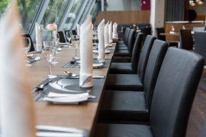 Restaurant im Mercedes-Benz Museum