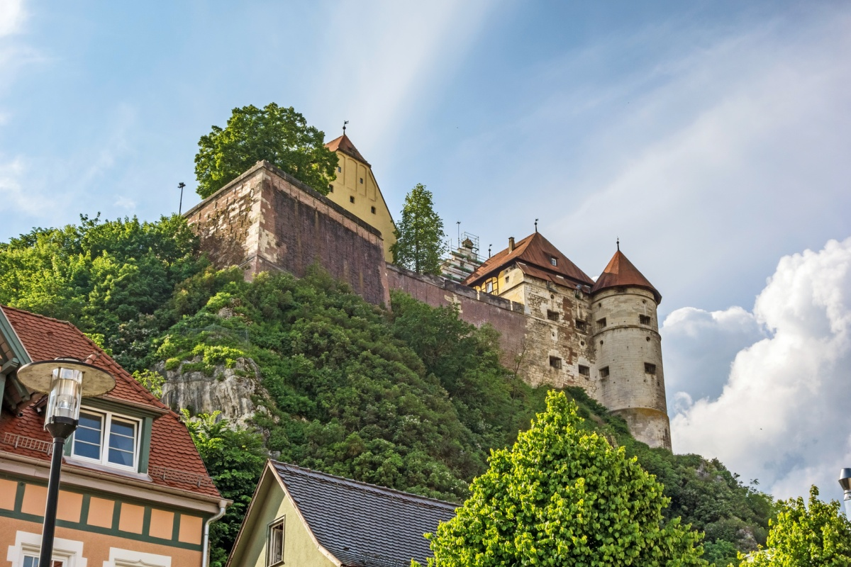 Schloss Hellenstein in Heidenheim an der Brenz - Albschäferweg