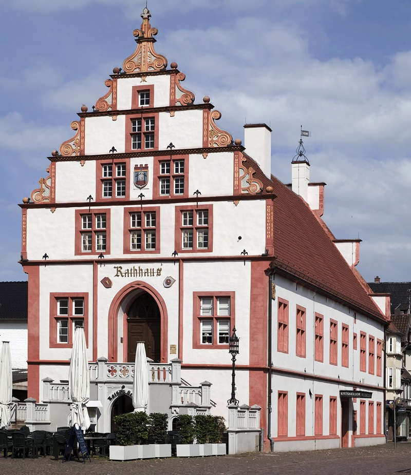 Rathaus in Bad Salzuflen - Hansaweg