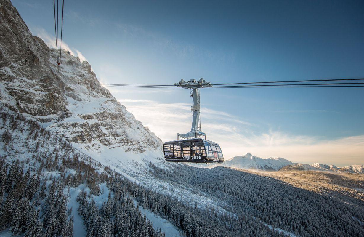 Neue Rekordseilbahn zur Zugspitze