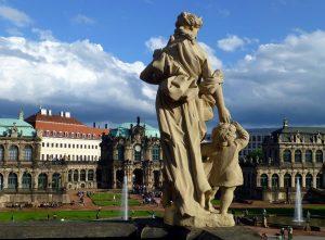 Dresden Blick vom Zwinger