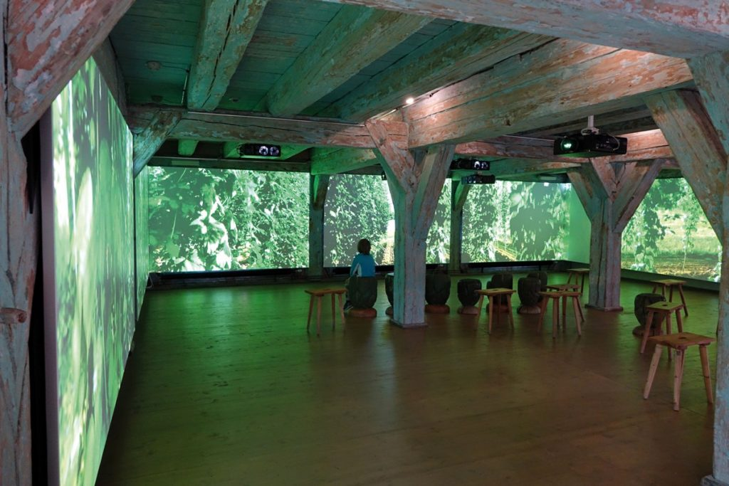 HopfenBierGut im Kornhaus Spalt, Ausstellung