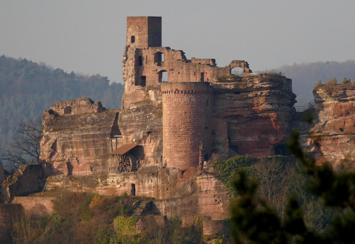 Burg Altdahn - Pfälzer Waldpfad