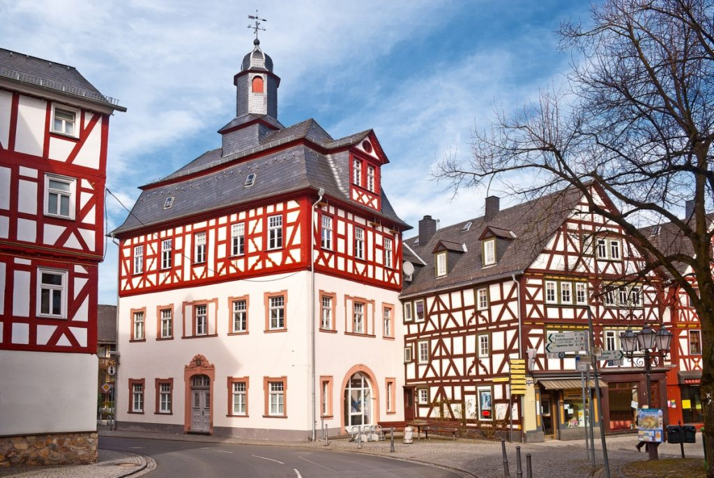 Rathaus Dillenburg - Rothaarsteig