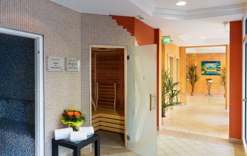 Saunalandschaft im Kurhotel Sonnenhof Bad Füssing