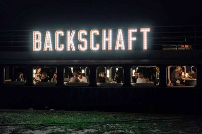 Restaurantschiff Backschaft in Offenbach