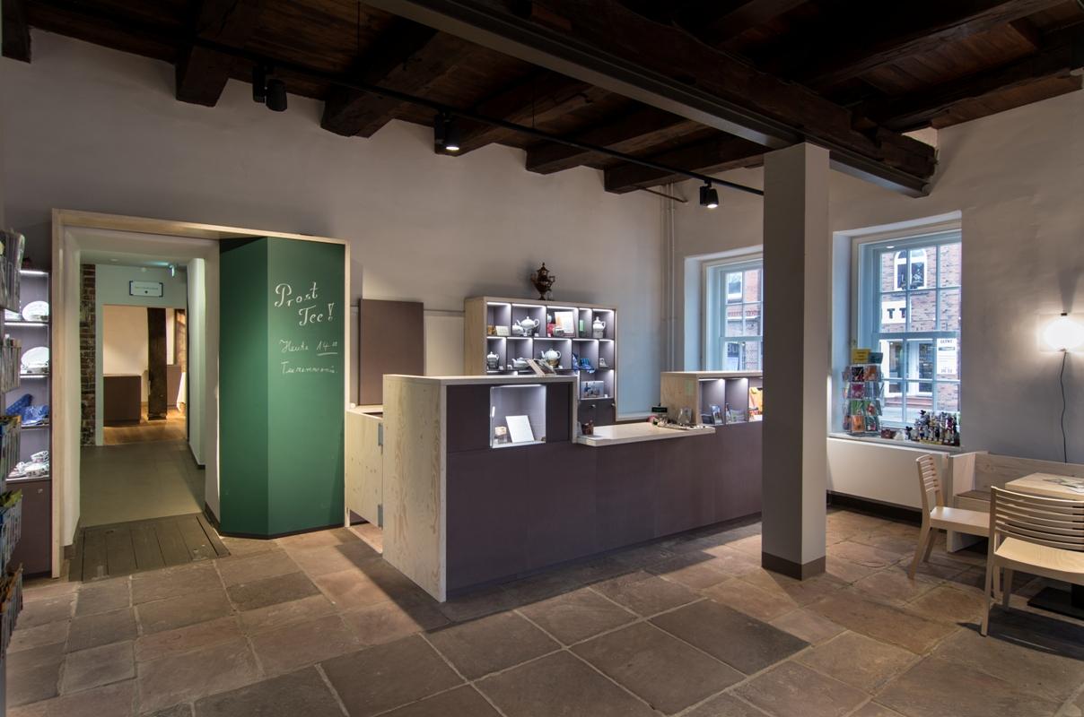 Ostfriesisches Teemuseum Norden, Foyer - Food-Museen