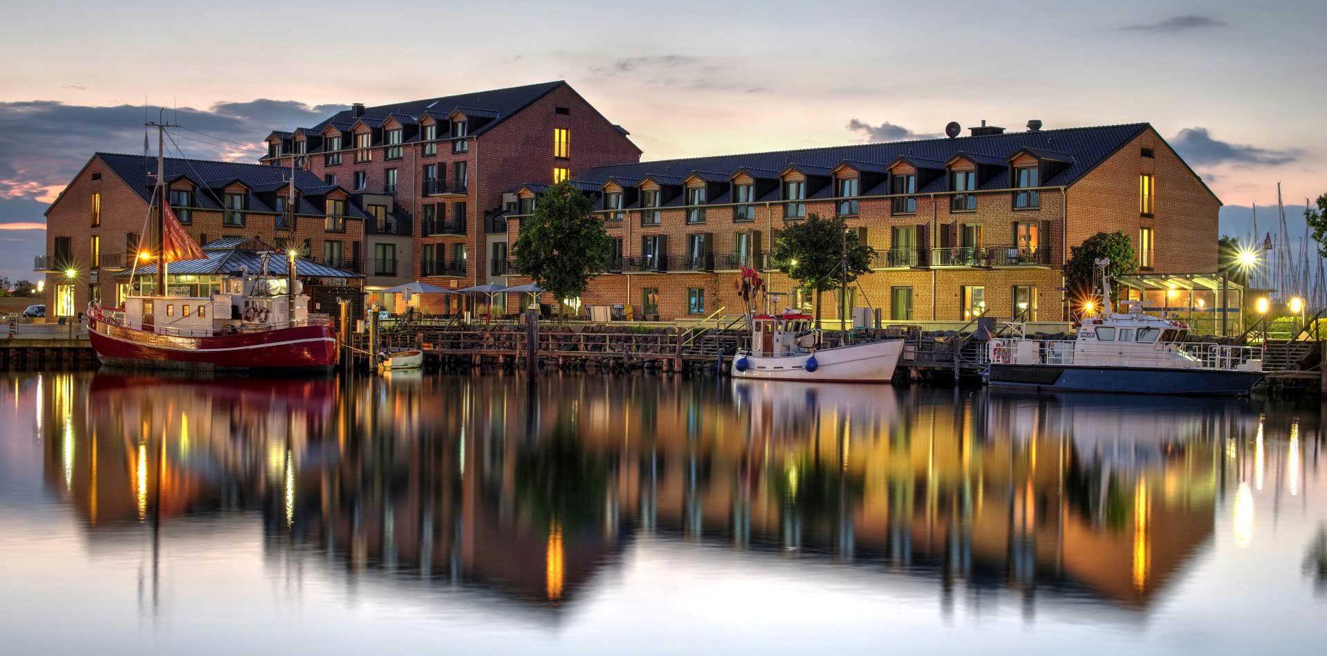 Hafenhotel Meereszeiten in Heiligenhafen