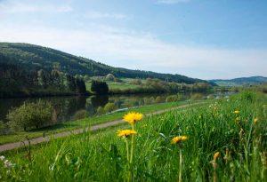 Perfstausee - Lahnwanderweg
