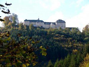 Schloss Wittgenstein - Lahnwanderweg
