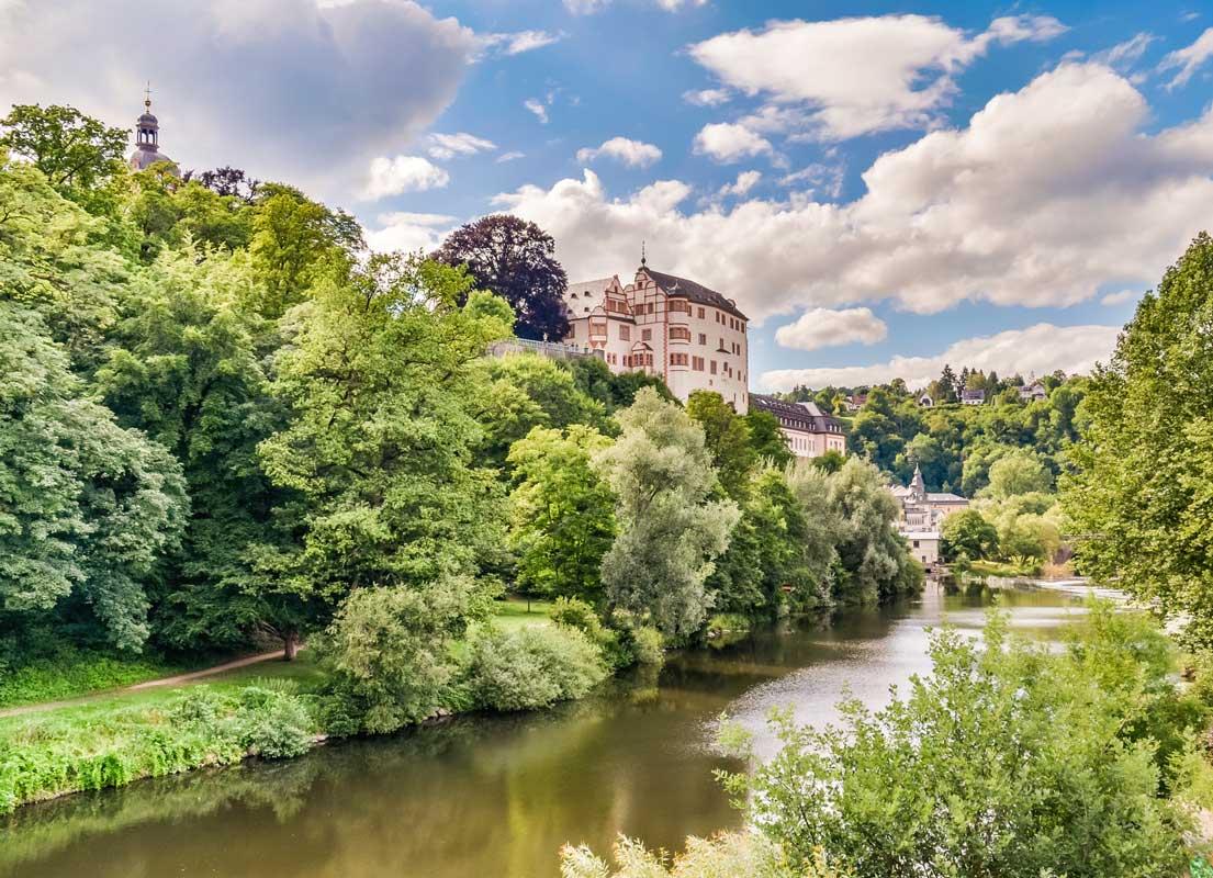 Schloss Weilburg - Lahnwanderweg
