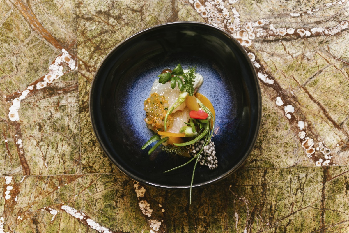 Foodbild Arne Anker, Restaurant Pauly Saal