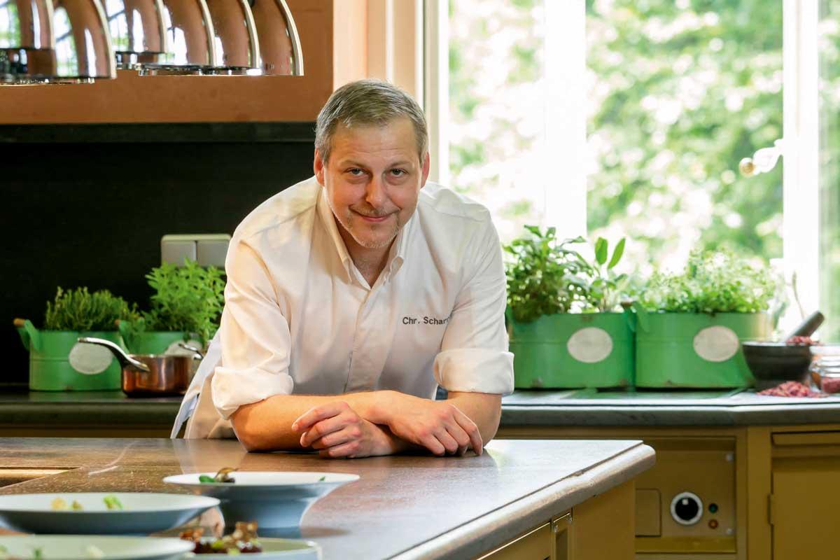 Christian Scharrer, Gourmetrestaurant Courtier