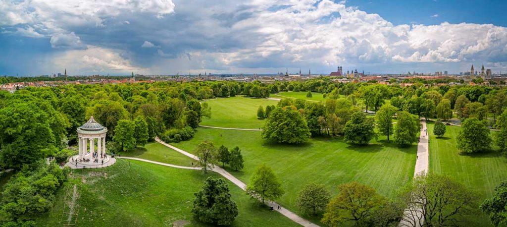 Englischer Garten, München - Parks und Gärten Deutschland