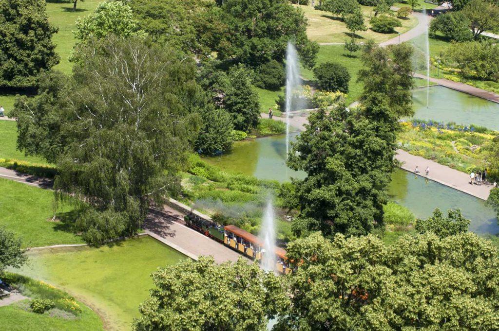 Höhenpark Killesberg, Stuttgart - Parks und Gärten Deutschlands