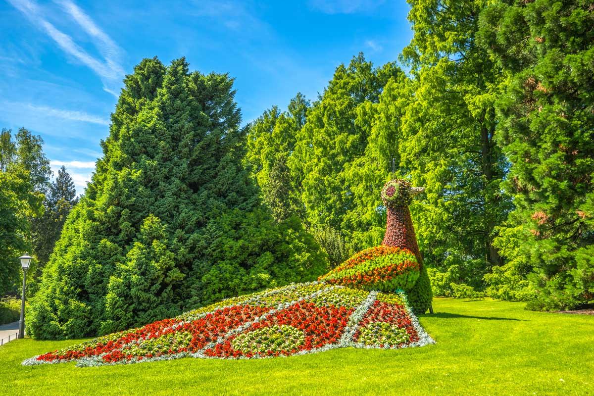 Blumeninsel Mainau, Parks und Gärten Deutschlands - Bodensee