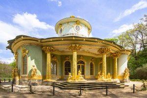Teehaus im Schlosspark Sanssouci, Potsdam - Parks und Gärten Deutschlands