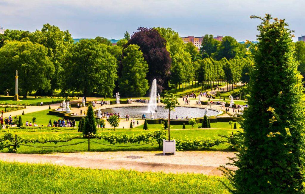 Schlosspark Sanssouci, Potsdam - Parks und Gärten Deutschlands