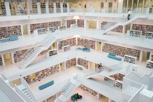 Innenansicht Stadtbibliothek Stuttgart