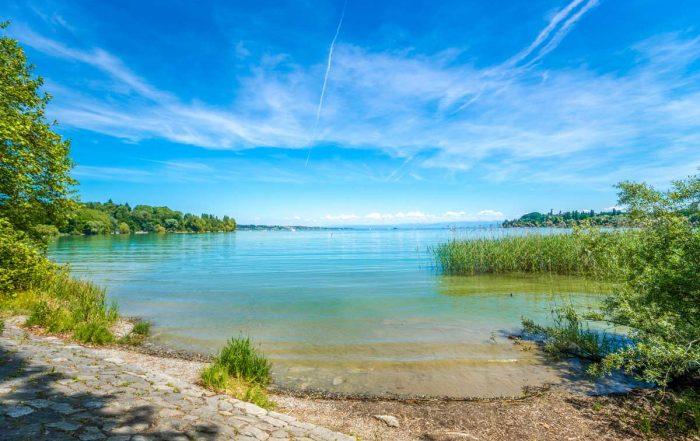 Bodensee bei Konstanz - 3Welten-Radweg