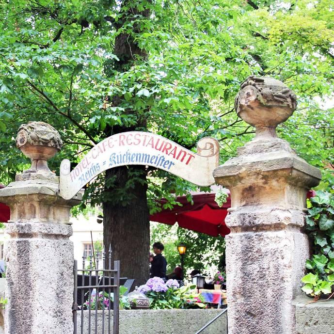 Biergarten @ Reichsküchenmeister Restaurant & Weinstube Löchle in Rothenburg ob der Tauber