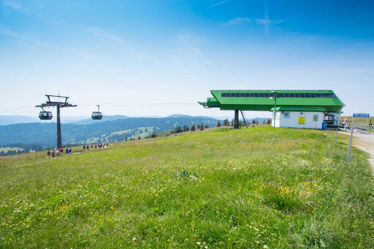 Bergstation Feldbergbahn