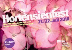 Hortensienfest auf Schloss Moyland