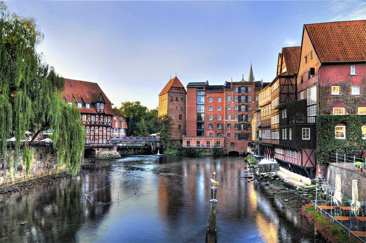 Hansestadt Lüneburg - Mecklenburgische Seen-Radweg