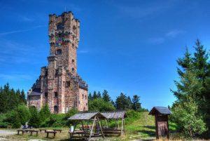 Altvaterturm am Wetzstein - Nortwaldweg