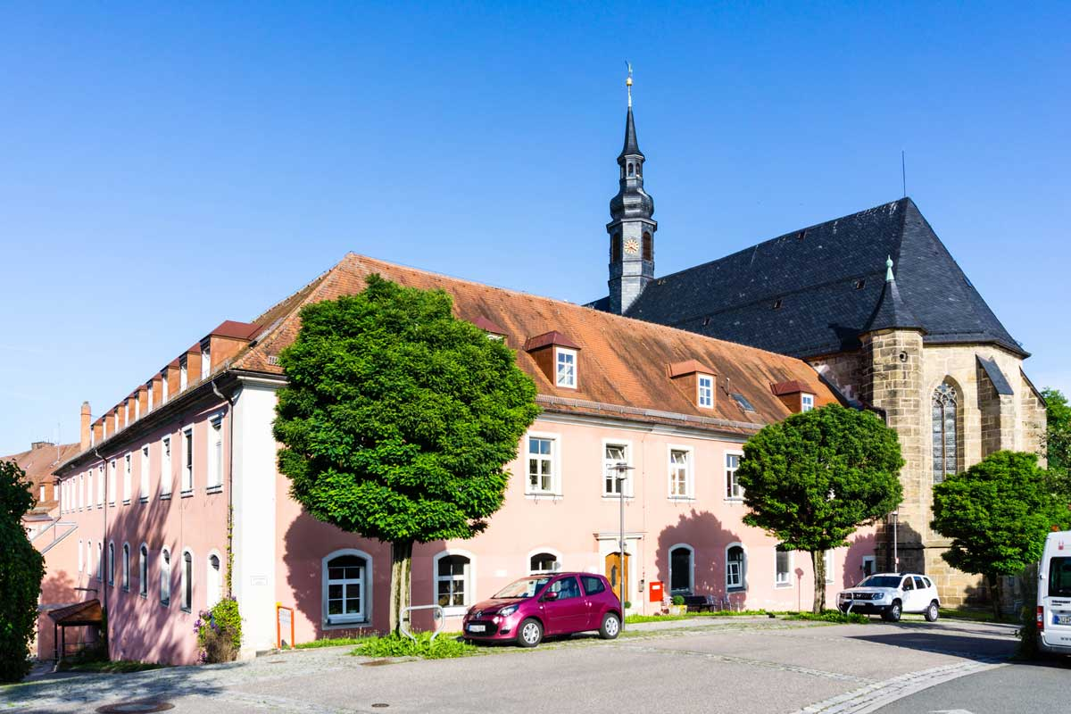 Klosterkirche Himmelkron - Nortwaldweg