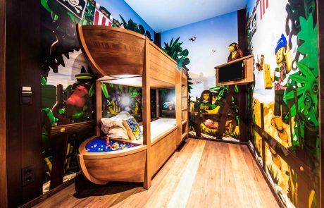Pirateninsel Hotel LEGOLAND, Kinderzimmer