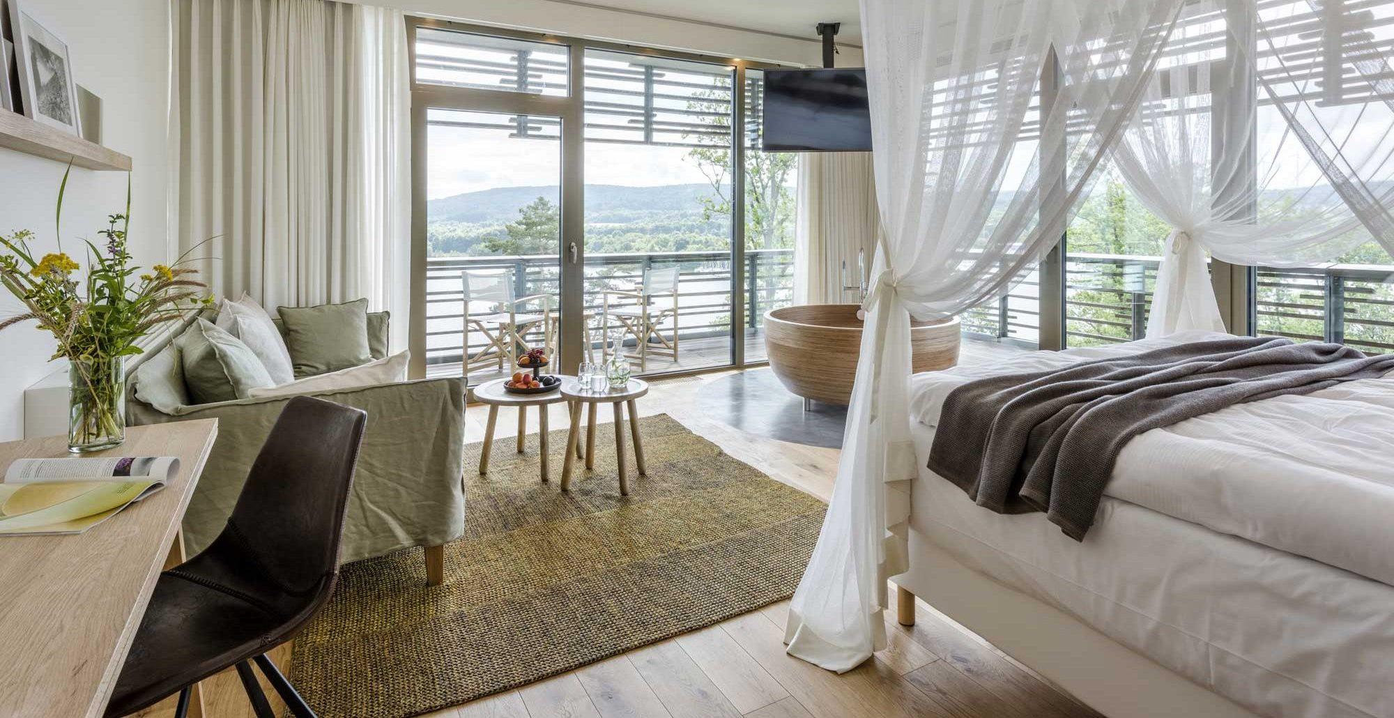Traumblick Suite, Seezeitlodge Hotel & Spa ©Günter Standl
