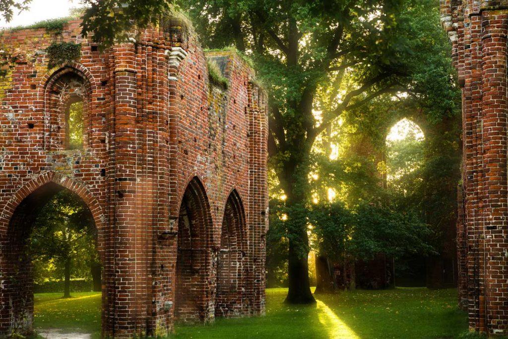 Klosterruine Eldena - Östlicher Backsteinrundweg