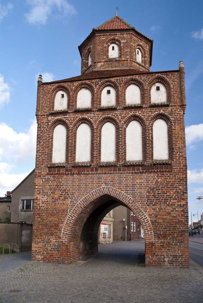 Rostocker Tor, Ribnitz-Damgarten - Östlicher Backstein-Rundweg