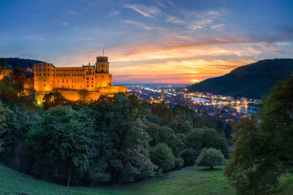 Schloss Heidelberg - Burgen und Schlösser