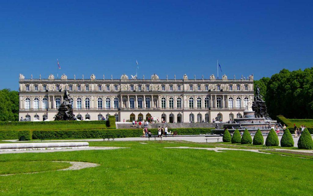 Schloss Herrenchiemsee - Burgen und Schlösser