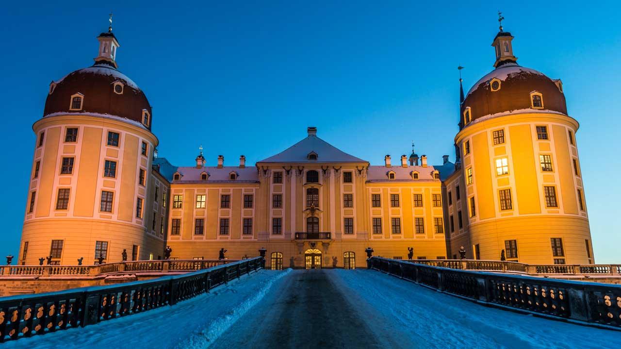 Schloss Moritzburg - Burgen und Schlösser