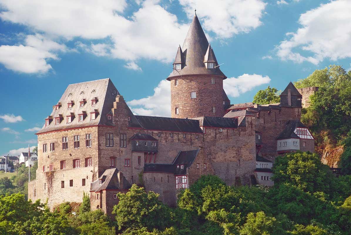 Burg Stahleck - Burgen und Schlösser