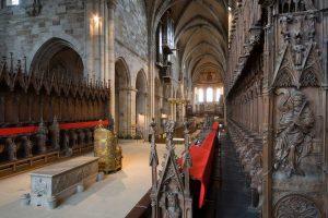 Innenansicht vom Bamberger Dom mit Papstgrab - Die schönsten Kirchen Deutschlands
