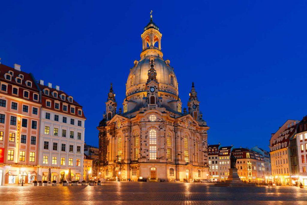 Frauenkirche Dresden - Die schönsten Kirchen Deutschlands