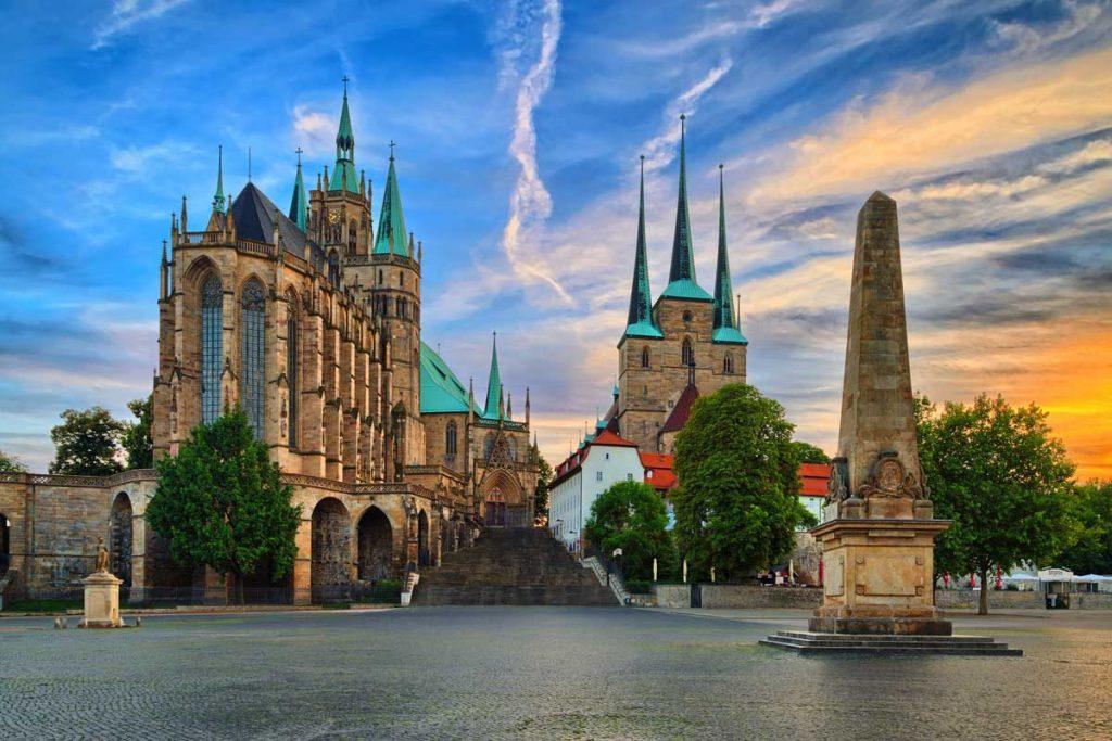 Erfurter Dom - Die schönsten Kirchen Deutschlands