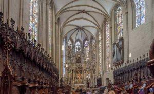 Erfurter Dom, innen -Die schönsten Kirchen Deutschlands