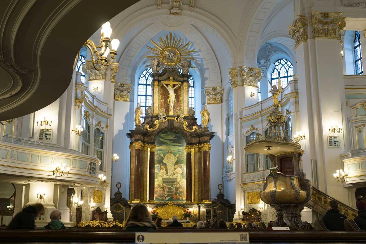 Hamburger Michel, innen - Die schönsten Kirchen Deutschlands