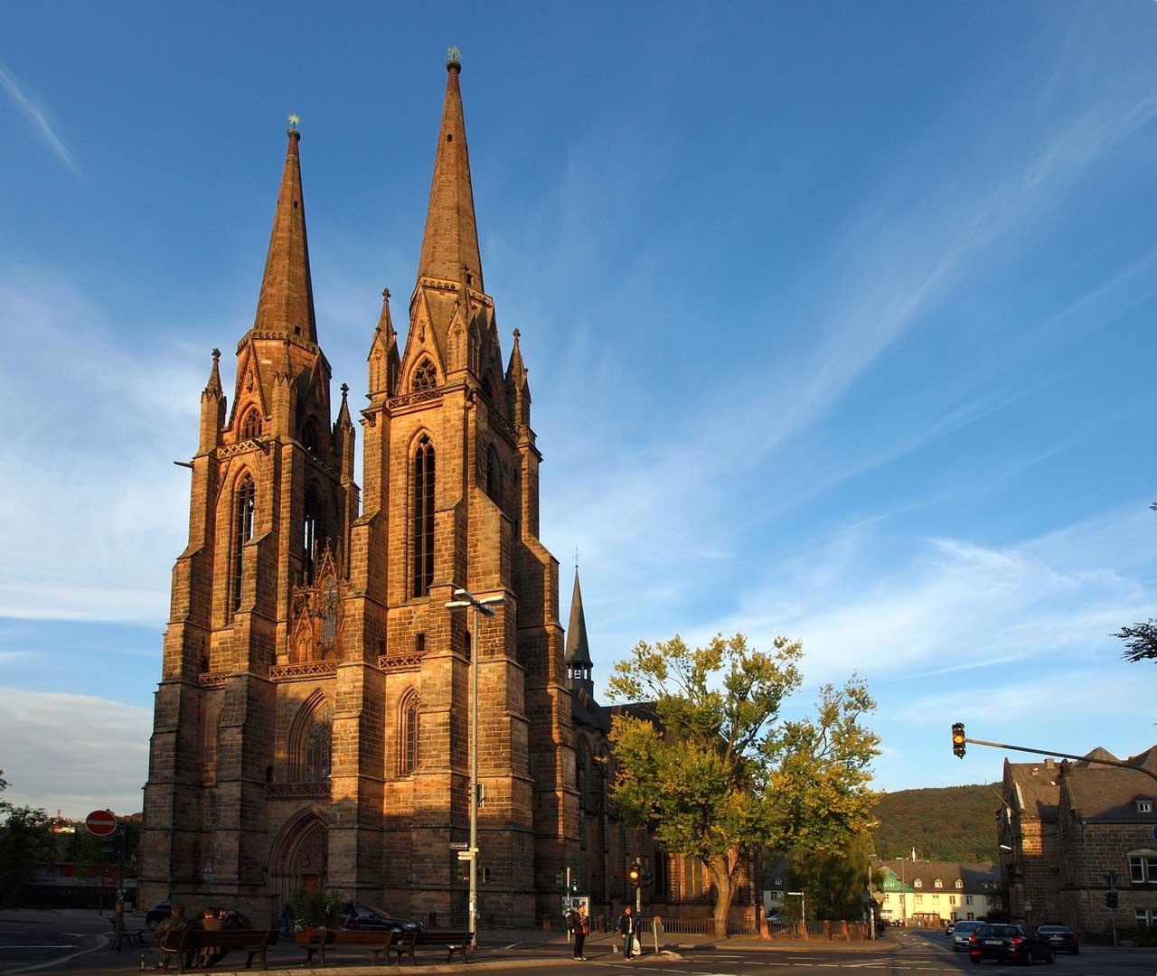Elisabethkirche Marburg - Die schönsten Kirchen Deutschlands