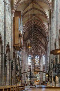 Lorenkirche Nürnberg, innen - Die schönsten Kirchen Deutschlands