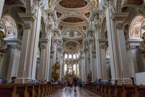 Passauer Dom, innen - Die schönsten Kirchen Deutschlands