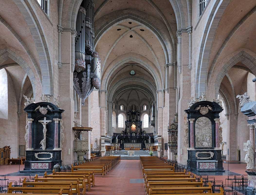 Trierer Dom, innen - Die schönsten Kirchen Deutschlands