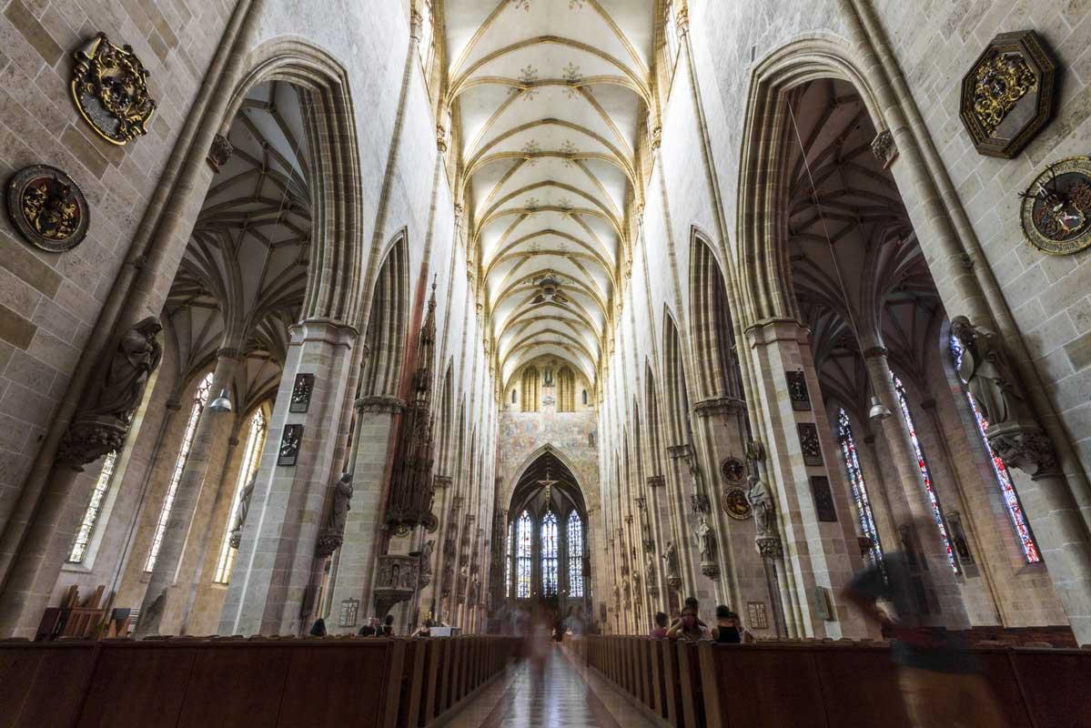 Ulmer Münster, innen - Die schönsten Kirchen Deutschlands