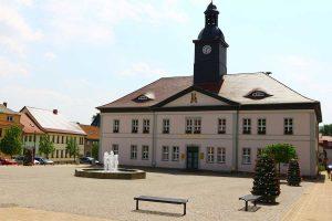 Bad Frankenhausen, Rathaus - Kyffhäuserweg