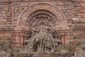 Kaiser Barbarossa am Kyffhäuserdenkmal - Kyffhäuserweg